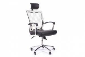 sedia per ufficio con poggiatesta