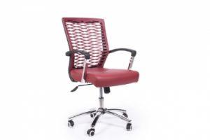 sedia ufficio rossa