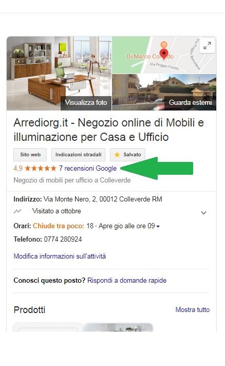 mobili per ufficio online recensioni