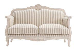 divano 2 posti per soggiorno shabby chic