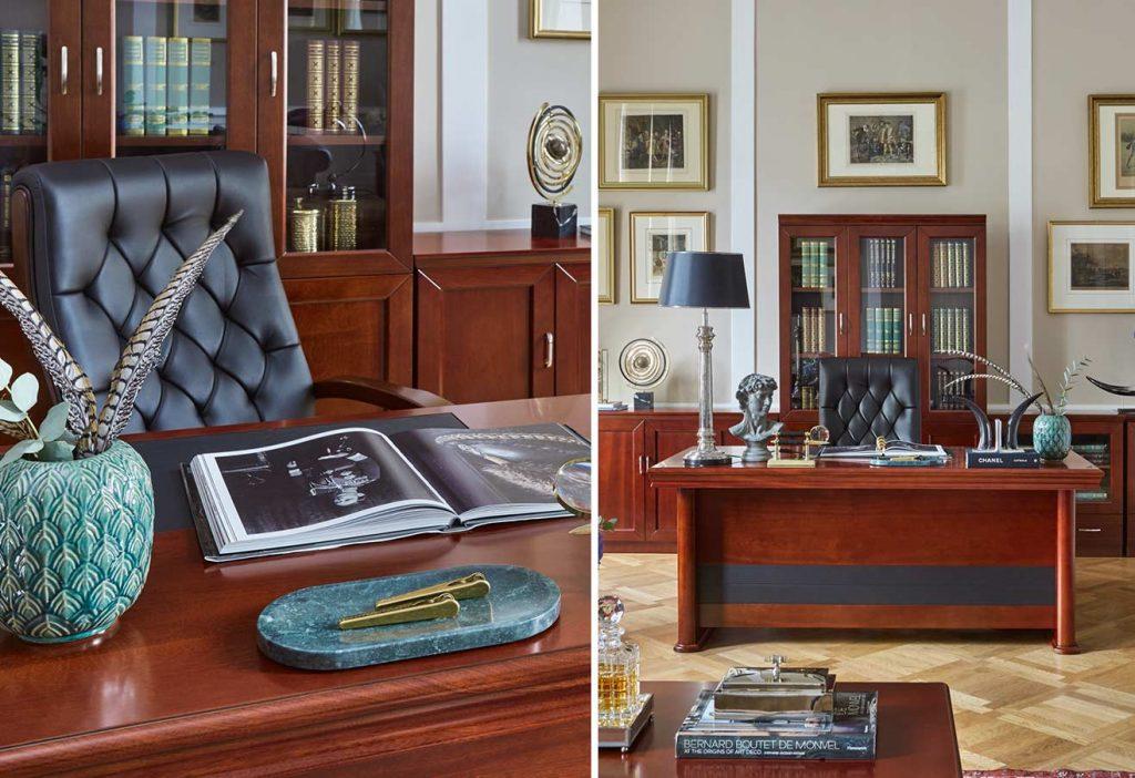 arredamento presidenziale ufficio elegante classico