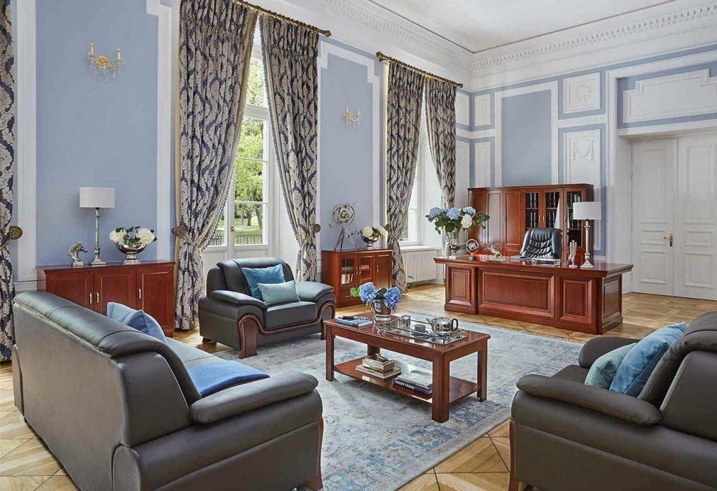 mobili per uffici presidenziali in legno eleganti arrediorg